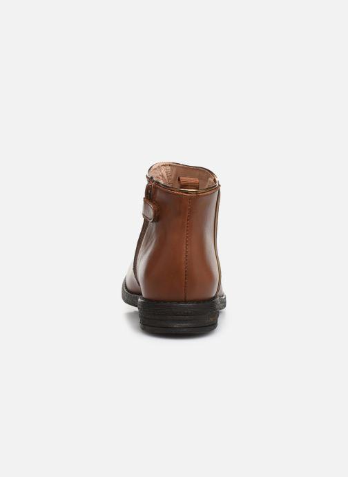 Bottines et boots Acebo's 9514TH Marron vue droite
