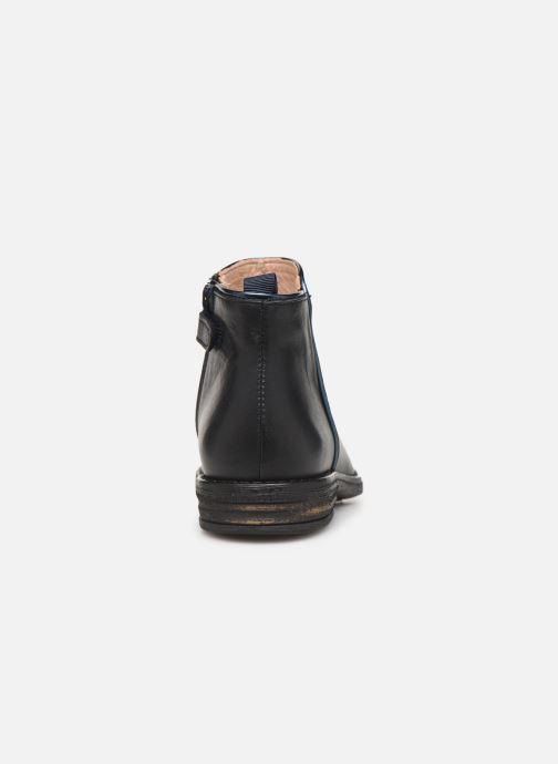 Bottines et boots Acebo's 9514TH Bleu vue droite