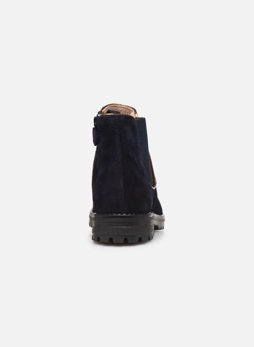 Bottines et boots Acebo's 9775 Bleu vue droite