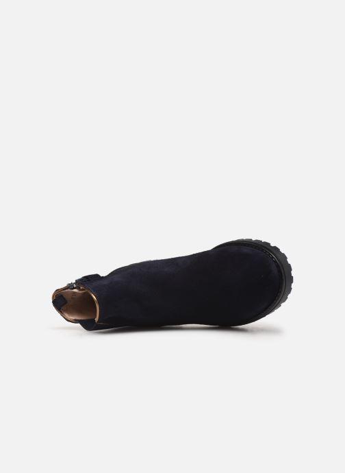Bottines et boots Acebo's 9775 Bleu vue gauche