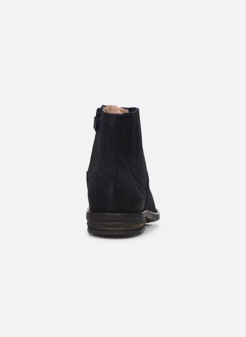 Bottines et boots Acebo's 97625A Bleu vue droite