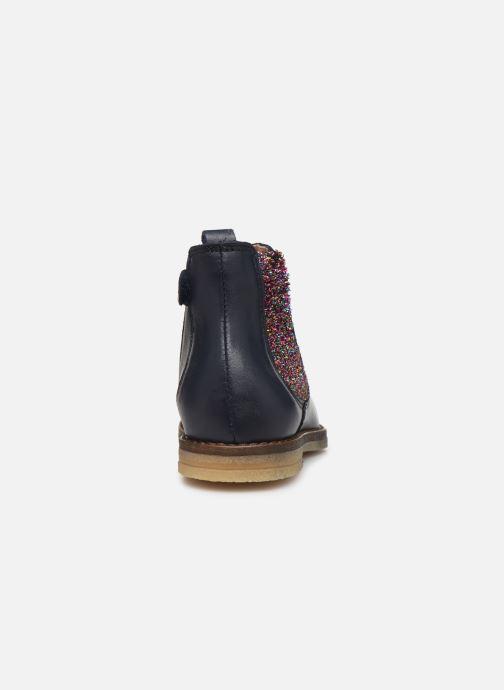 Bottines et boots Acebo's 5274 Bleu vue droite