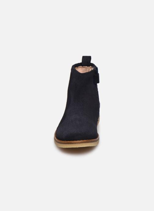 Bottines et boots Acebo's 3120 Bleu vue portées chaussures