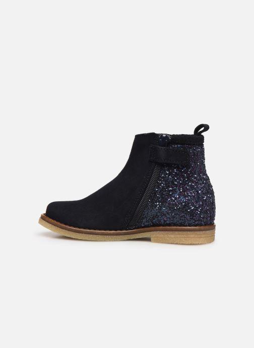 Bottines et boots Acebo's 3120 Bleu vue face