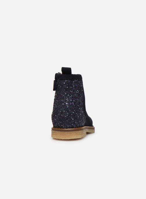 Bottines et boots Acebo's 3120 Bleu vue droite