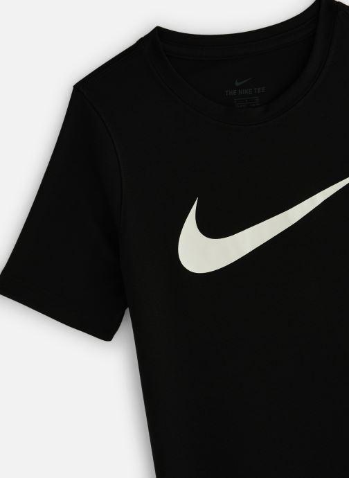 Vêtements Nike Nike Dry Tee Leg Swoosh Noir vue portées chaussures