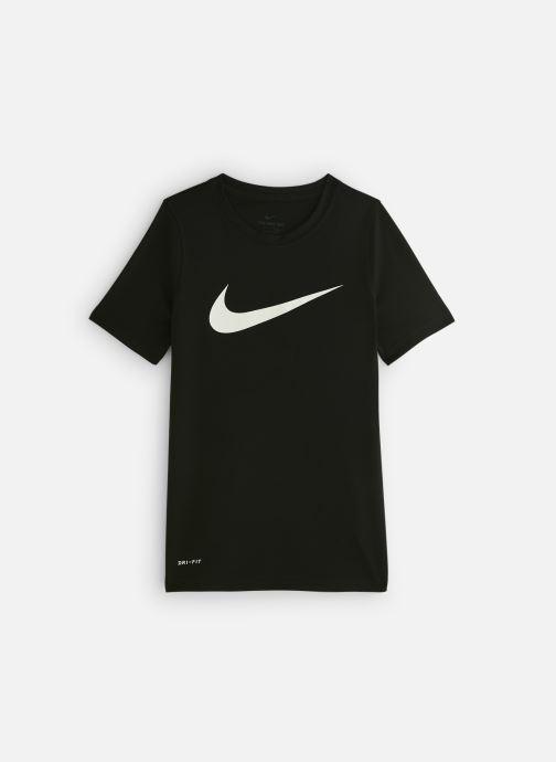 Kleding Nike Nike Dry Tee Leg Swoosh Zwart detail