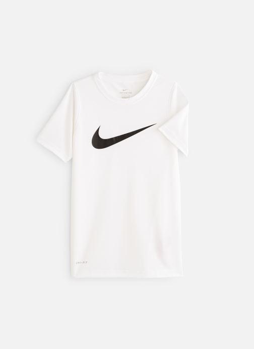 Vêtements Nike Nike Dry Tee Leg Swoosh Blanc vue détail/paire