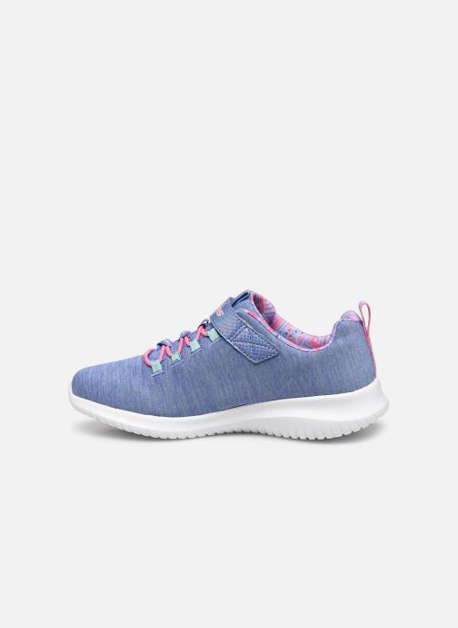 Sportschoenen Skechers Ultra Flex - First Choice E Blauw voorkant