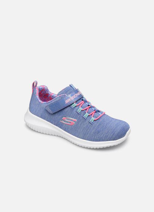 Sportschoenen Skechers Ultra Flex - First Choice E Blauw detail