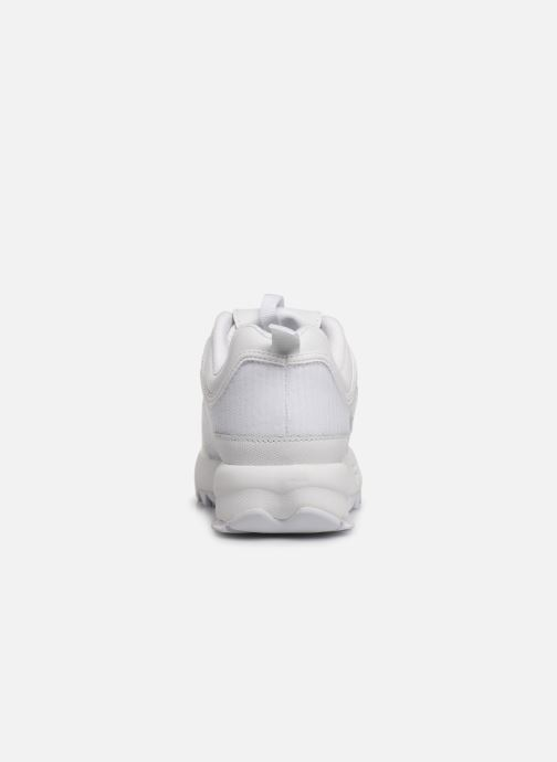 Deportivas FILA Disruptor II Patches Blanco vista lateral derecha