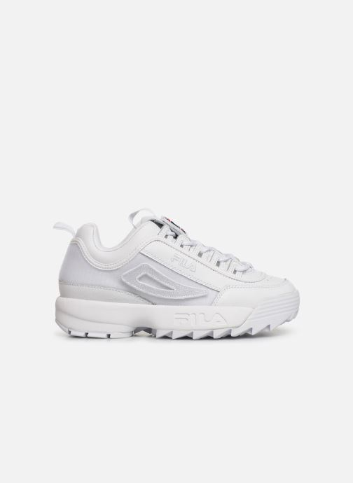 Baskets FILA Disruptor II Patches Blanc vue derrière