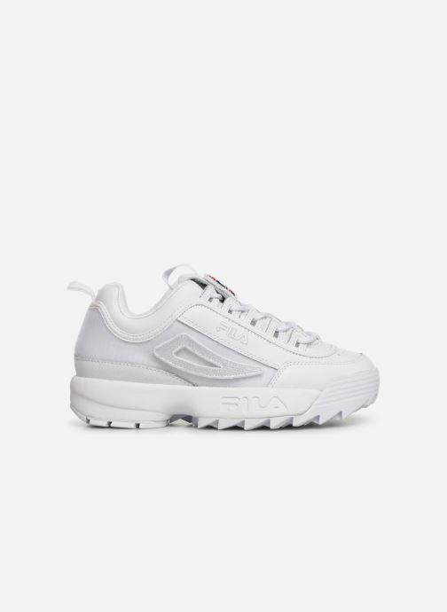 Sneakers FILA Disruptor II Patches Hvid se bagfra