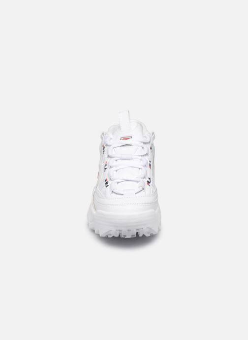 Sneakers FILA D-Formation Wmn Bianco modello indossato