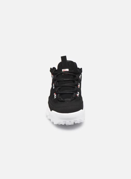 Sneakers FILA D-Formation Wmn Nero modello indossato