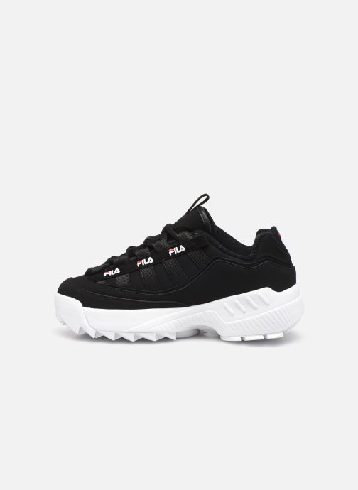 Trainers FILA D-Formation wmn Black front view