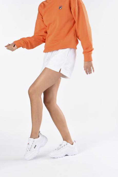 Sneaker FILA Strada Low Wmn weiß ansicht von unten / tasche getragen