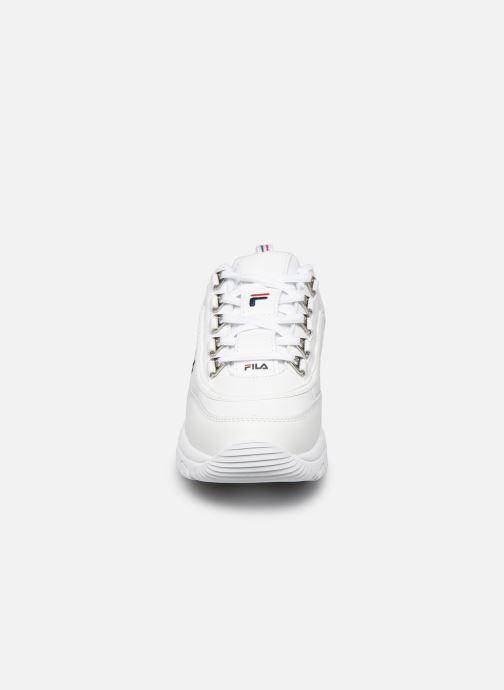 Baskets FILA Strada low wmn Blanc vue portées chaussures