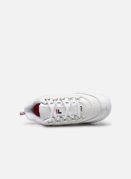Sneaker FILA Strada Low Wmn weiß ansicht von links