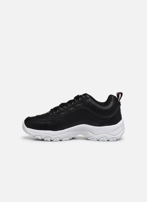 Sneakers FILA Strada Low Wmn Zwart voorkant