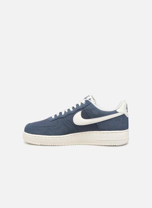 Deportivas Nike Air Force 1 '07 2 Azul vista de frente