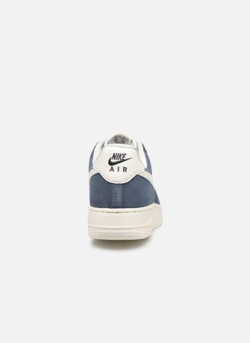 Baskets Nike Air Force 1 '07 2 Bleu vue droite