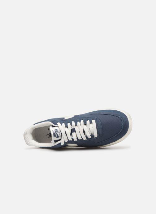 Baskets Nike Air Force 1 '07 2 Bleu vue gauche