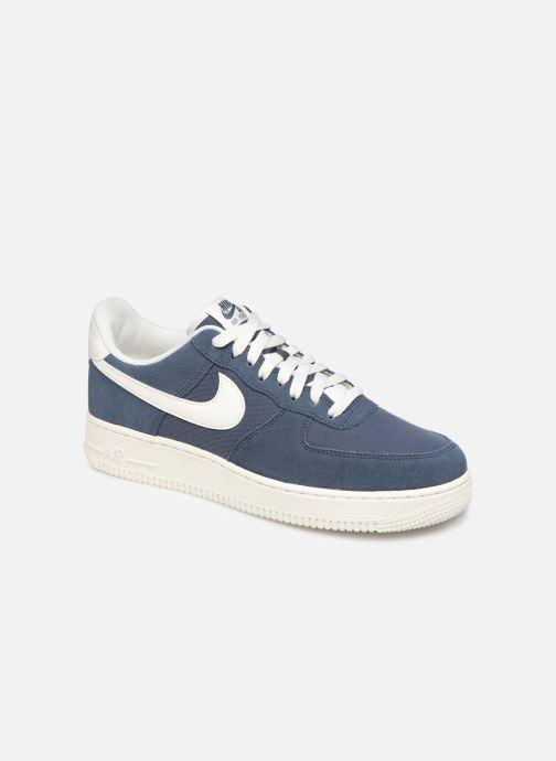 Baskets Nike Air Force 1 '07 2 Bleu vue détail/paire