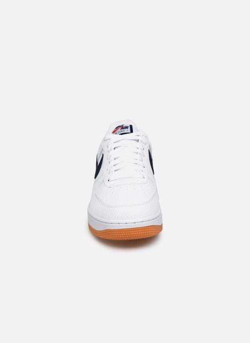 Deportivas Nike Air Force 1 '07 2 Blanco vista del modelo