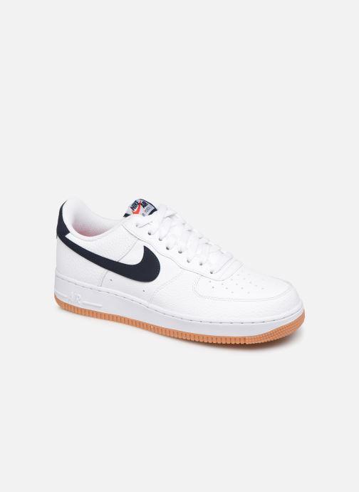 Deportivas Nike Air Force 1 '07 2 Blanco vista de detalle / par