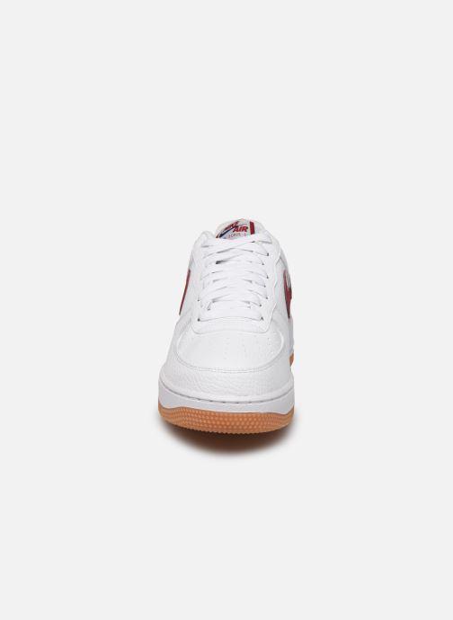 Sneaker Nike Air Force 1 '07 2 weiß schuhe getragen
