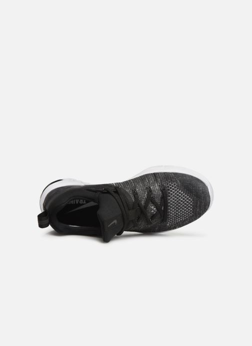 Sport shoes Nike Wmns Nike Metcon Flyknit 3 Black view from the left