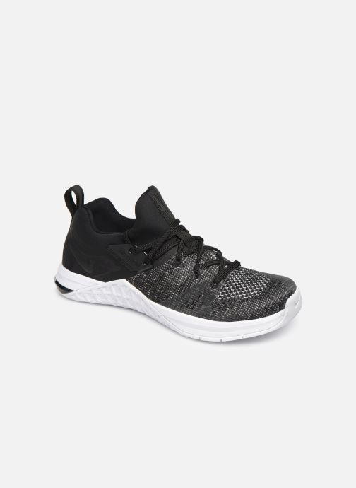 Sport shoes Nike Wmns Nike Metcon Flyknit 3 Black detailed view/ Pair view