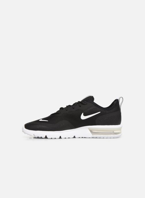 Trainers Nike Nike Air Max Sequent 4.5 Black front view