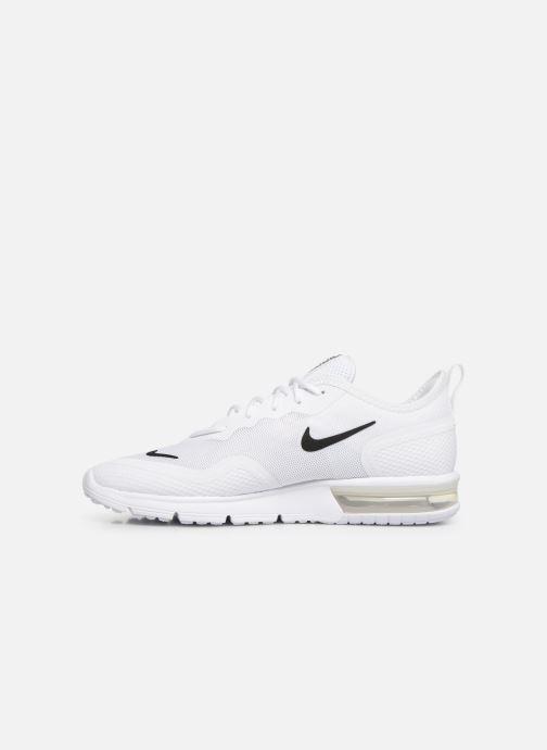 Baskets Nike Nike Air Max Sequent 4.5 Blanc vue face