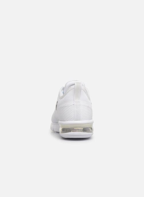 Baskets Nike Nike Air Max Sequent 4.5 Blanc vue droite