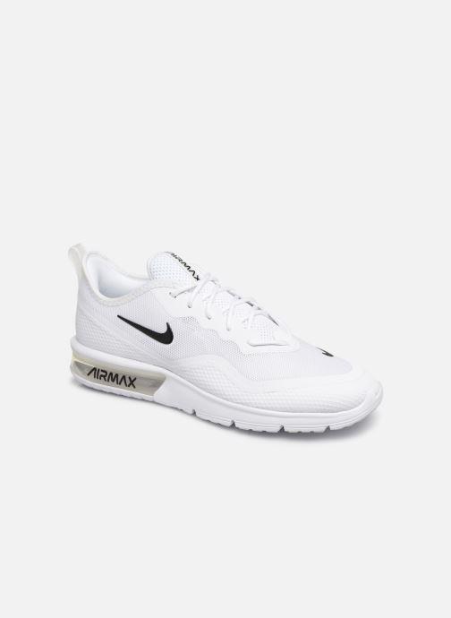 Deportivas Nike Nike Air Max Sequent 4.5 Blanco vista de detalle / par