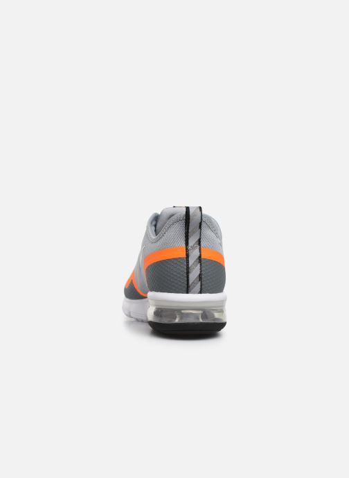 Baskets Nike Nike Air Max Sequent 4.5 Gris vue droite