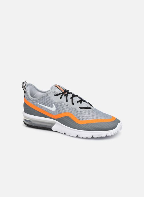 Baskets Nike Nike Air Max Sequent 4.5 Gris vue détail/paire