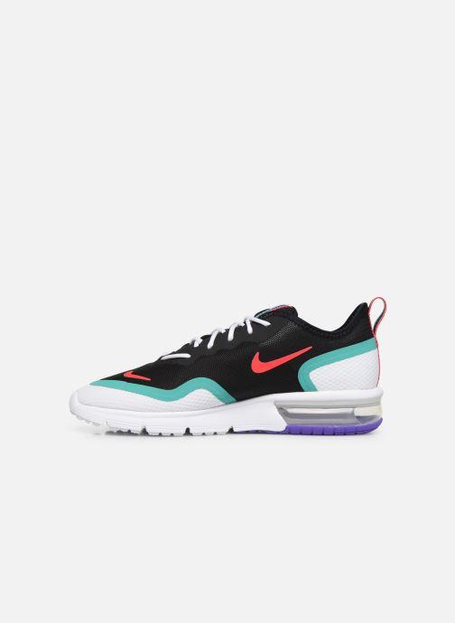 Sneaker Nike Nike Air Max Sequent 4.5 schwarz ansicht von vorne