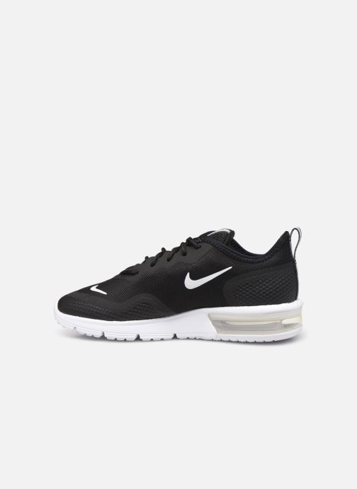 Baskets Nike Wmns Nike Air Max Sequent 4.5 Noir vue face