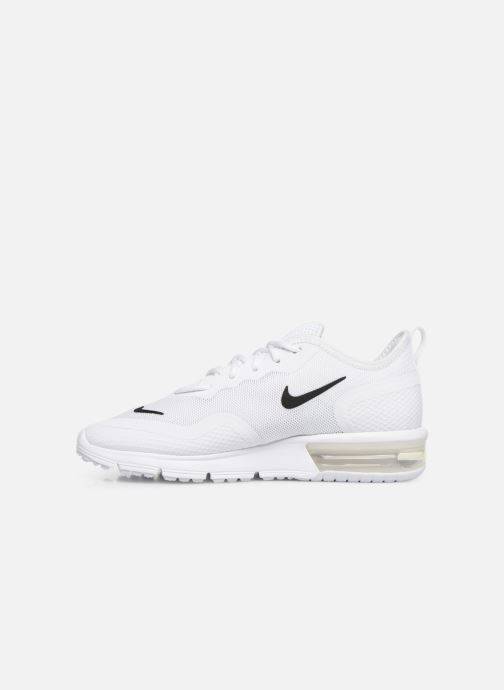 Sneakers Nike Wmns Nike Air Max Sequent 4.5 Bianco immagine frontale