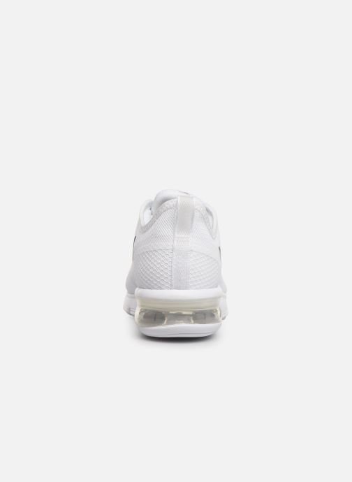Trainers Nike Wmns Nike Air Max Sequent 4.5 White view from the right
