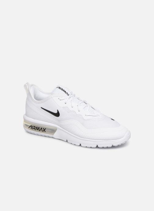Baskets Nike Wmns Nike Air Max Sequent 4.5 Blanc vue détail/paire