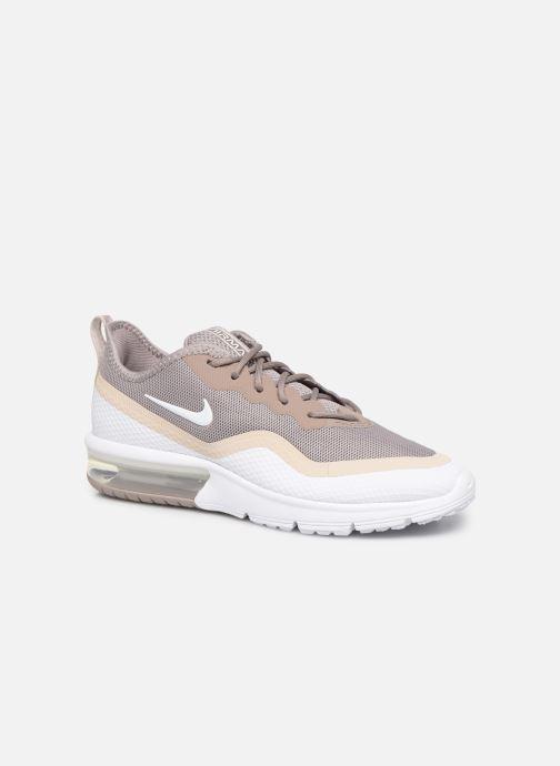 Deportivas Nike Wmns Nike Air Max Sequent 4.5 Blanco vista de detalle / par