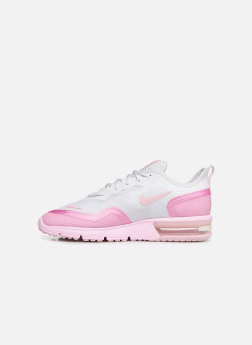 Baskets Nike Wmns Nike Airmax Sequent4.5Prm Rose vue face