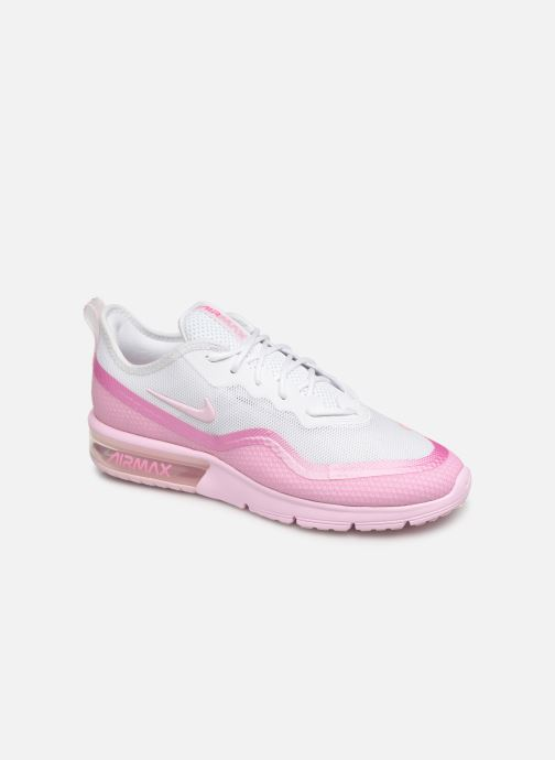 Baskets Nike Wmns Nike Airmax Sequent4.5Prm Rose vue détail/paire