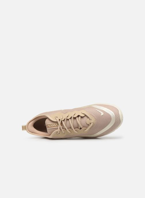 Baskets Nike Wmns Nike Airmax Sequent4.5Prm Beige vue gauche