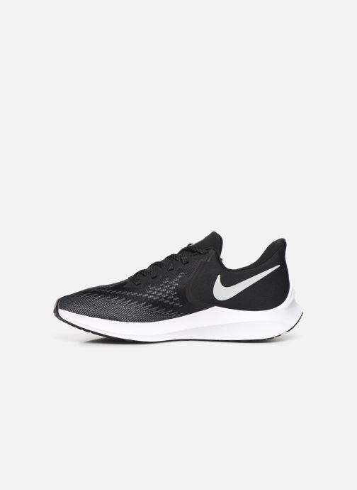 Sportschuhe Nike Nike Zoom Winflo 6 schwarz ansicht von vorne