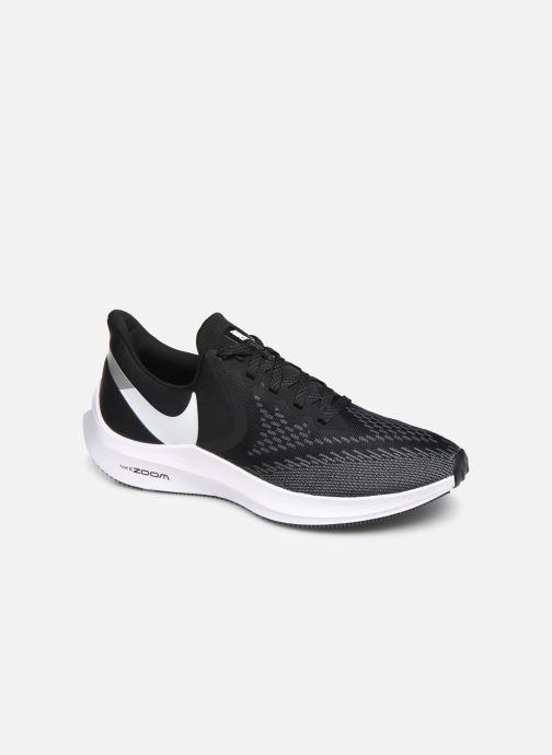 Sportschuhe Nike Nike Zoom Winflo 6 schwarz detaillierte ansicht/modell